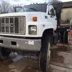 GMC 6×6 Cat 3116 Engine Flatbed truck 1995